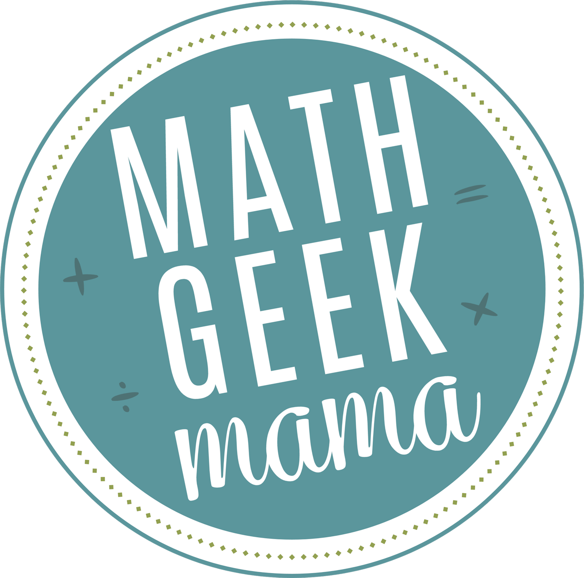 Math Geek Mama Shop
